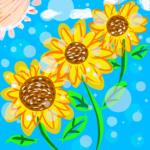 【福井・観光】三国・池上ひまわりパークの感想。たくさんの太陽がそこにありました。【インスタ映え!おすすめ・夏】