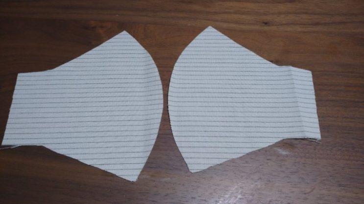 手縫い布マスク4