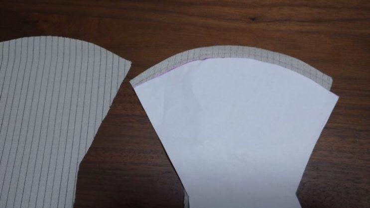 手縫い布マスク5