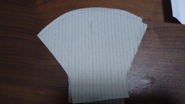 手縫い布マスク7