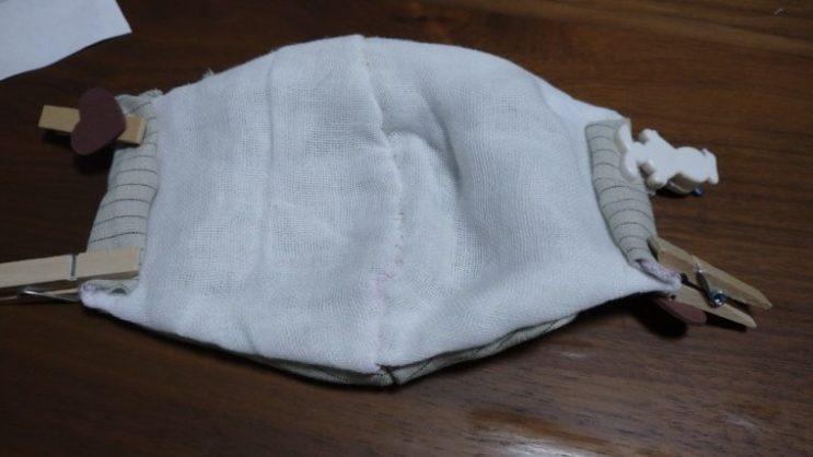 手縫い布マスク12