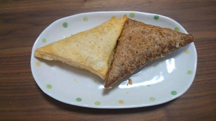 三角チョコパイ9