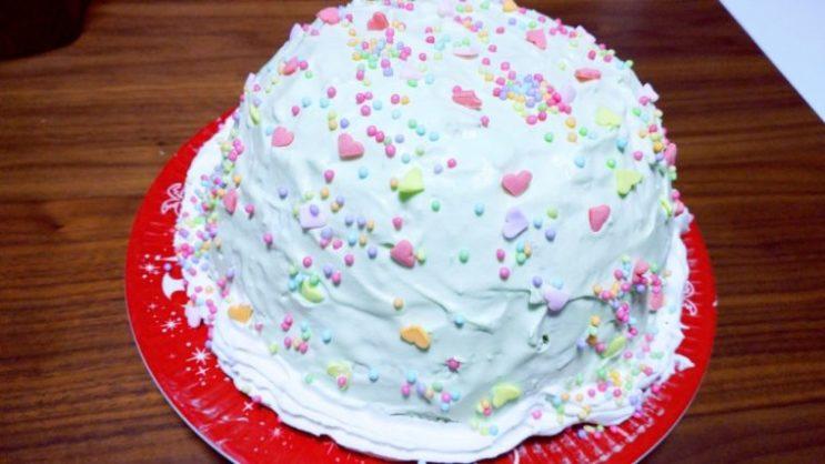 アリエルドレスケーキ5