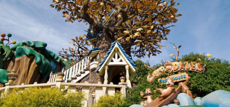 チップとデールのツリーハウス1